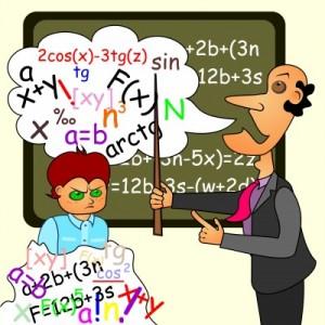 Mathe ist mit Abstand das Schulfach, in dem die meisten Schüler Probleme haben.