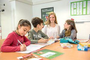 Nachhilfelehrerin im Studienkreis Melanie Blome Klassenraum
