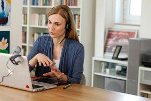 Online-Nachhilfe: Lehrerin Studienkreis