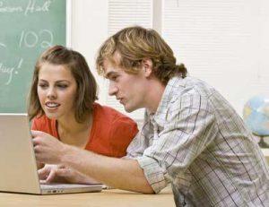 Digitalisierung Schule - Schüler am Computer