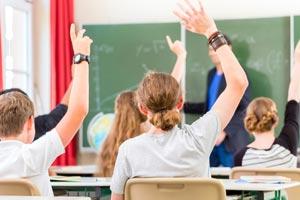 Noten rechtzeitig ausgleichen - Schüler melden sich in Schule