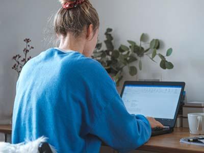 Abitur Corona - Lernen am Laptop