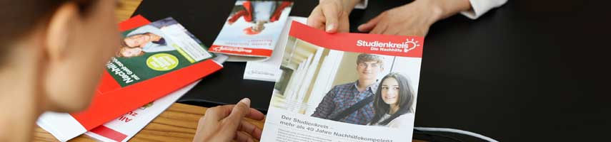 Informationsmaterial Franchise Studienkreis