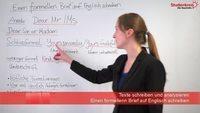 Einen Formellen Brief Auf Englisch Schreiben Hinweise Tipps